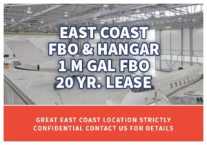 FBO for sale - East Coast