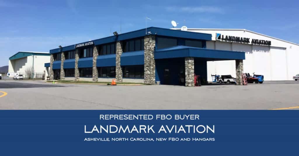 FBO Sale - Landmark Aviation