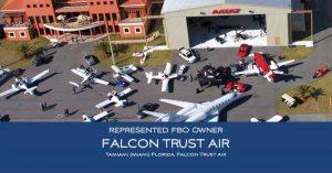 FBO Sales: Falcon Trust Air